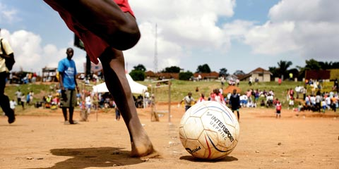 Trikots für Uganda